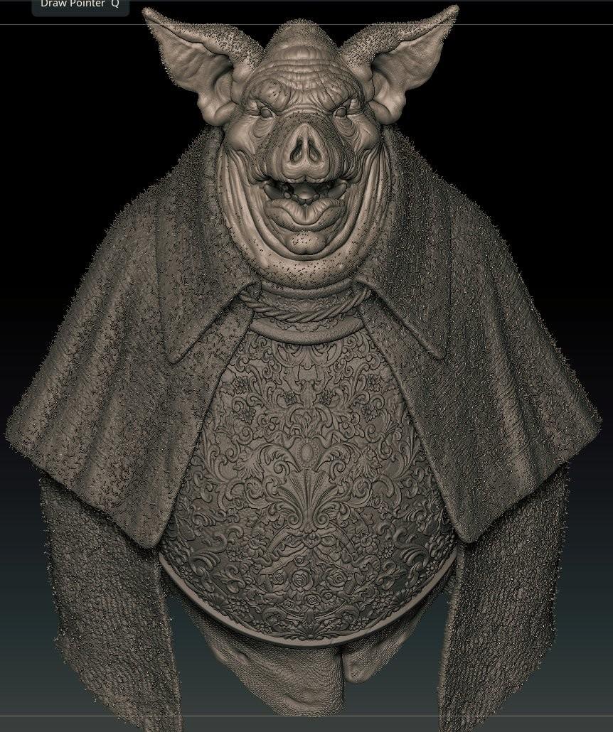 Gavin goulden pigsculpt