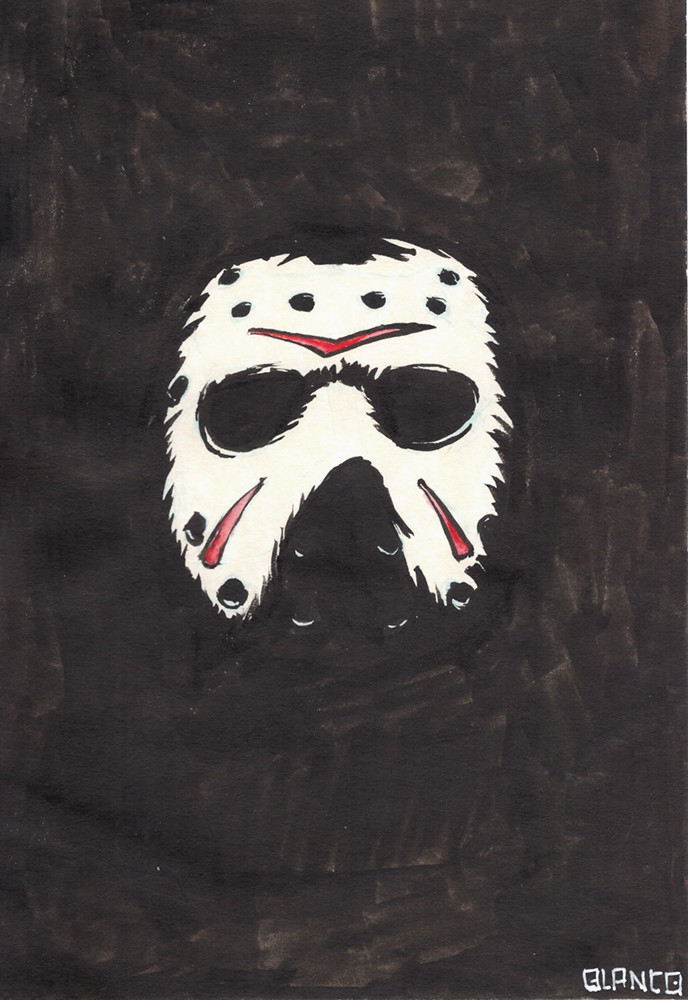 Inktober day 31 - Mask