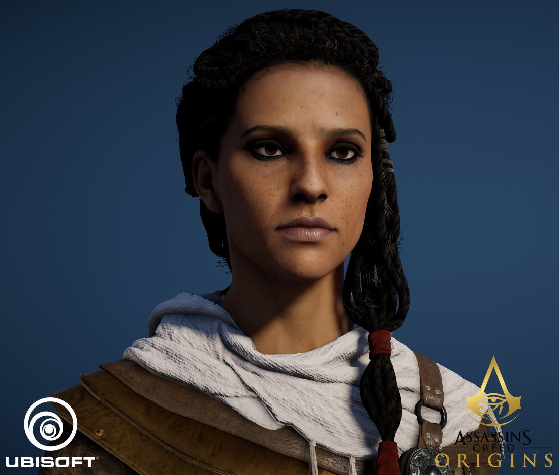 Artstation Assassin S Creed Origins Characters Eugene Fokin
