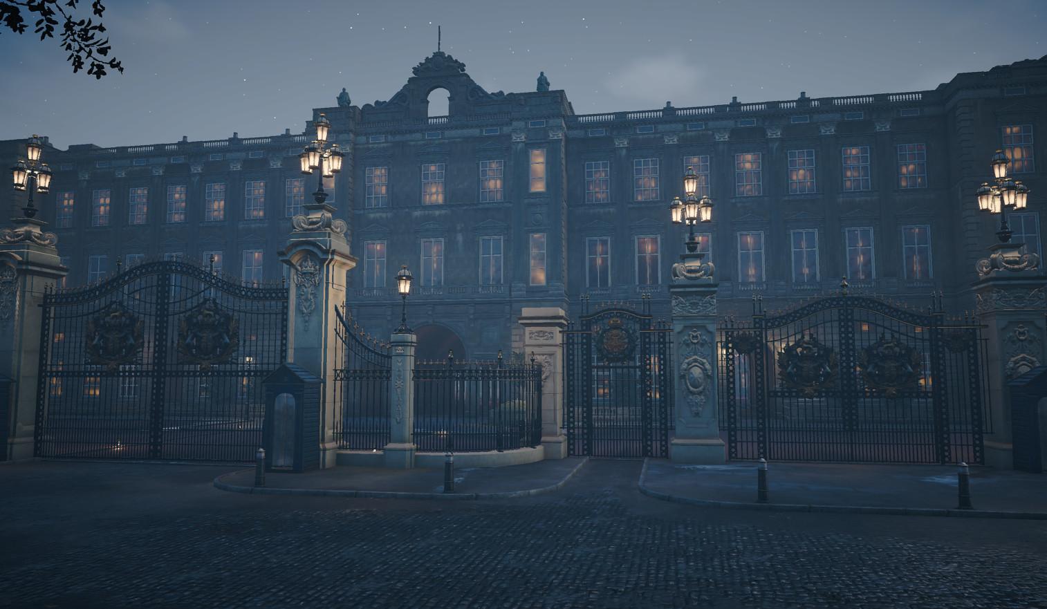 Artstation Assassin S Creed Syndicate Buckingham Palace Kevin Kok