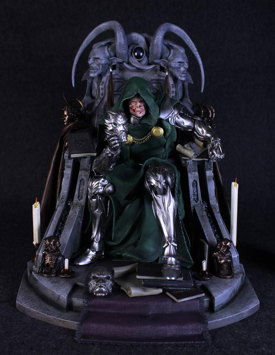 Caleb Nefzen - -DOCTOR DOOM (On Throne)- 1/4 Statue