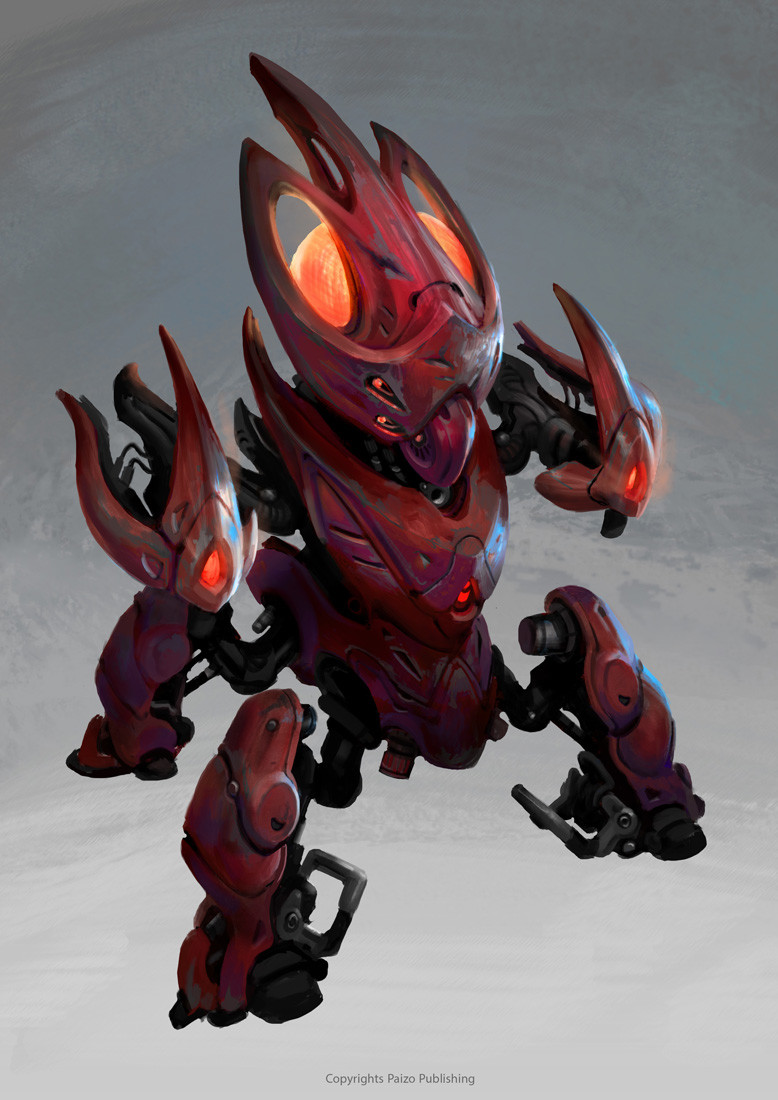 Miro petrov alien robot