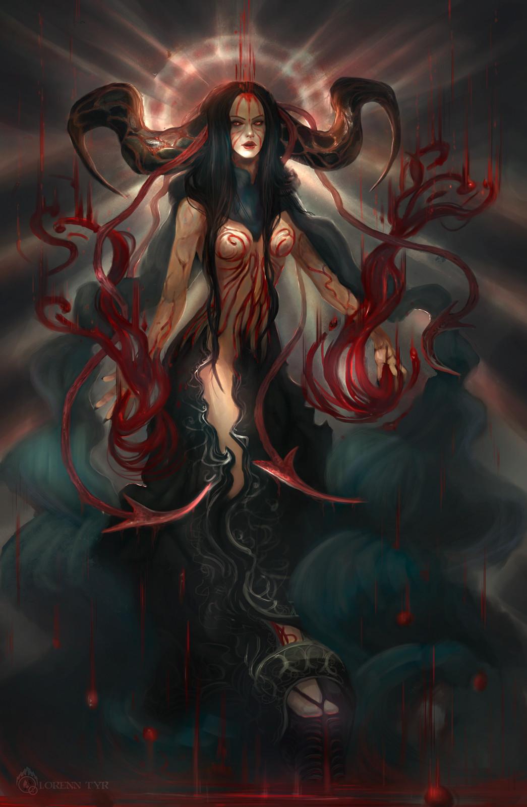 Lorenn tyr blood demon