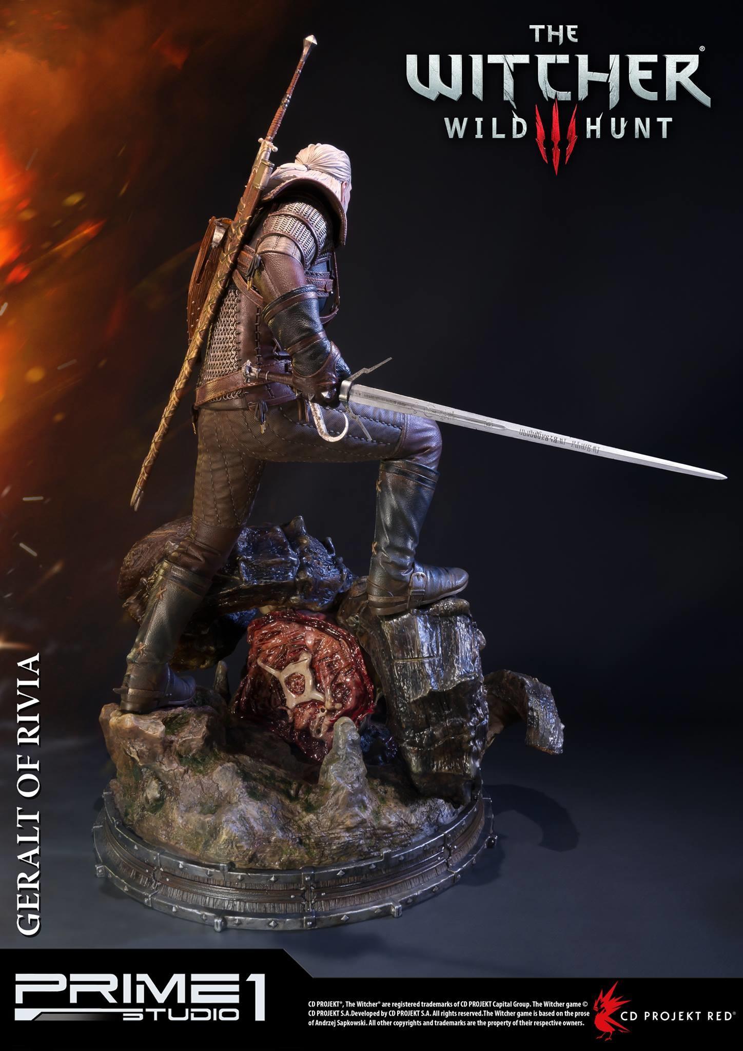 Alvaro ribeiro witcher 3 geralt of rivia statue 010