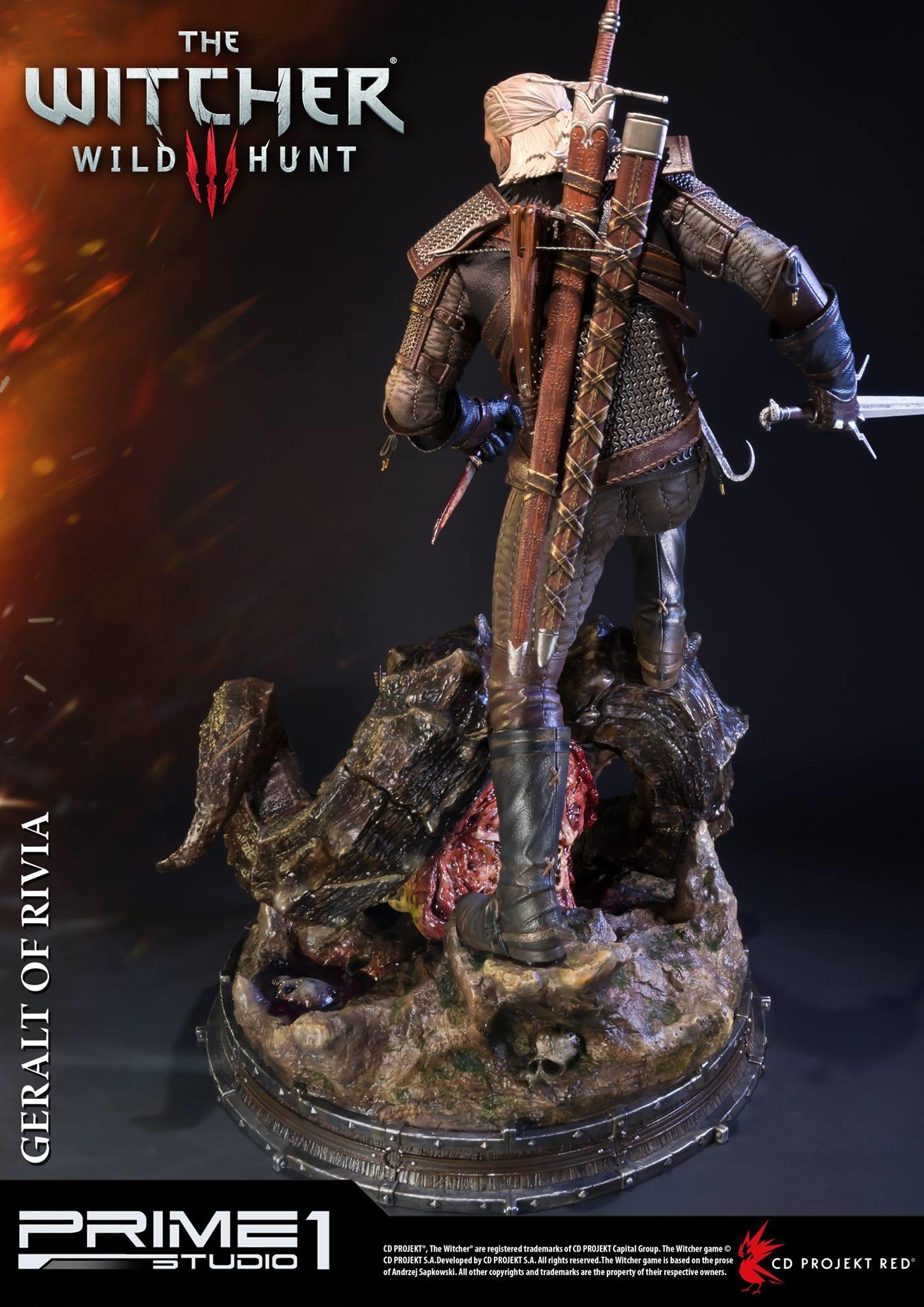 Alvaro ribeiro witcher 3 geralt of rivia statue 008
