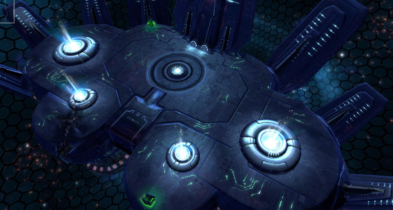 Zelem's Nexus: Remnants of Creators' destroyed planet held together by Darkspore technology