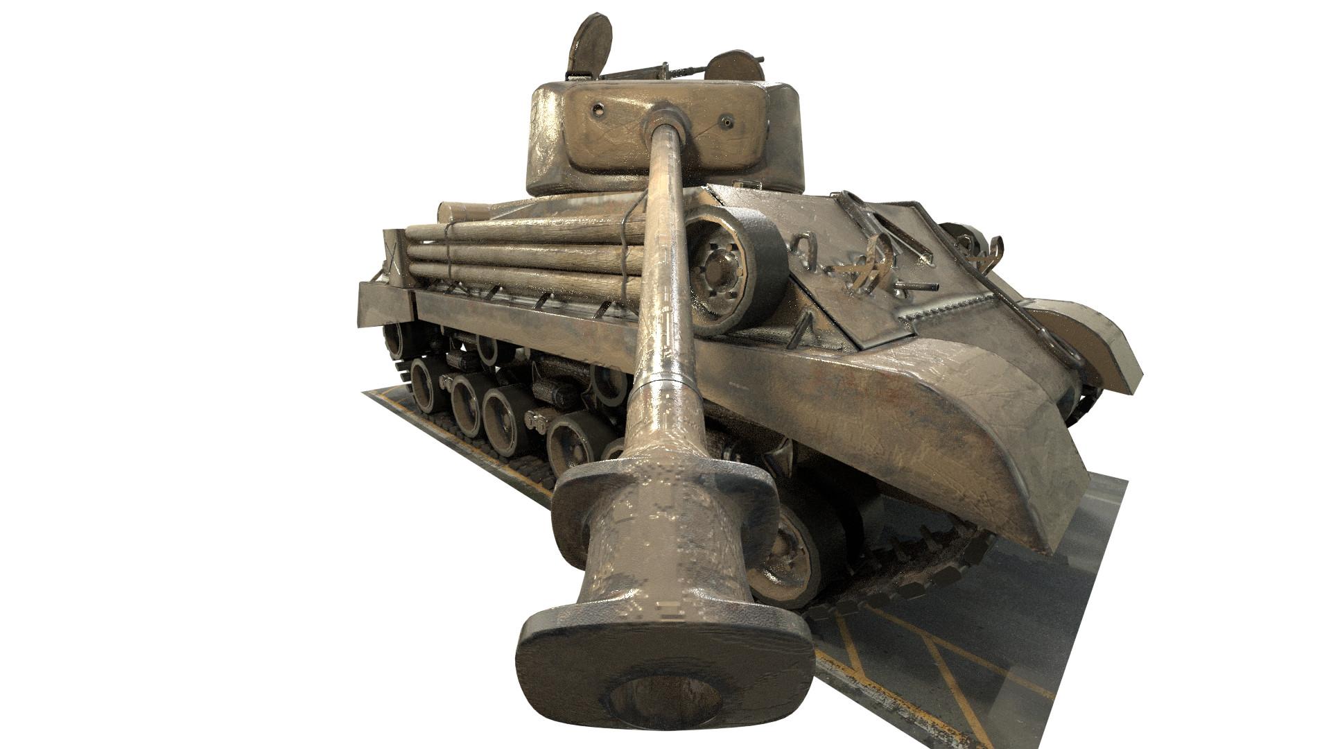 Mohamed Amir - M4A3E8 Sherman