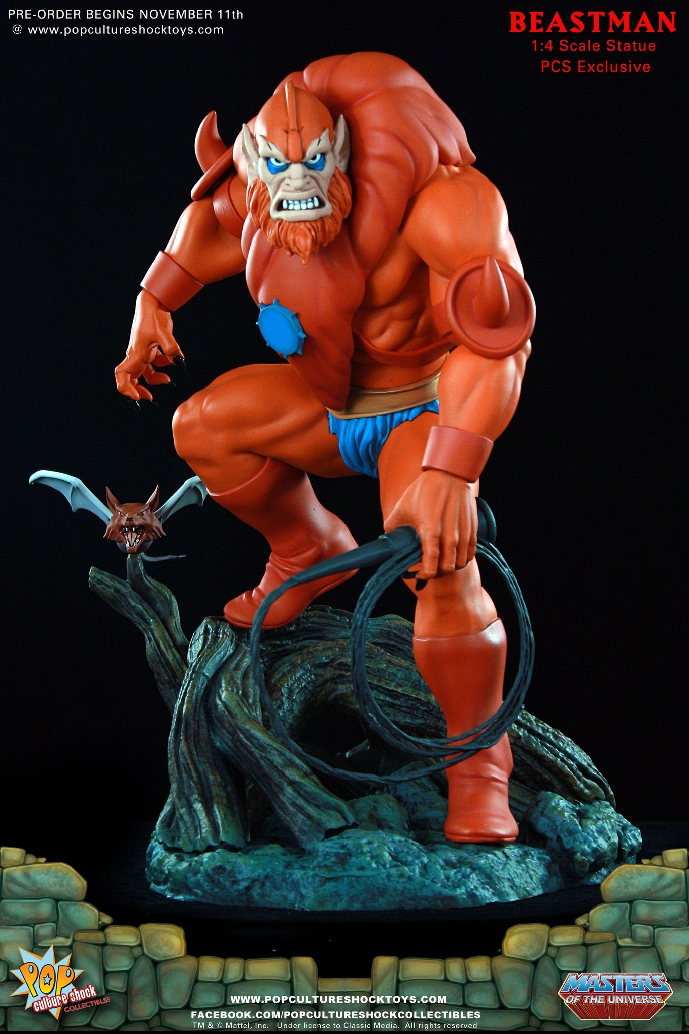 Alejandro pereira beastman exclusive edition motu pop culture shock 01