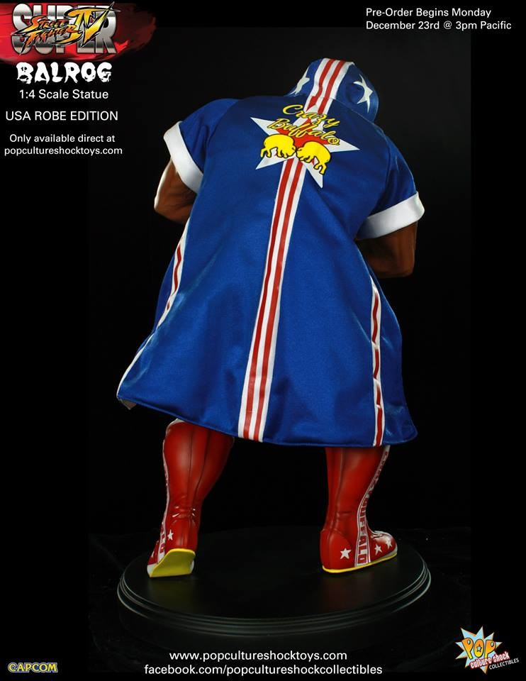Alejandro pereira street fighter balrog usa robe exclusive 7