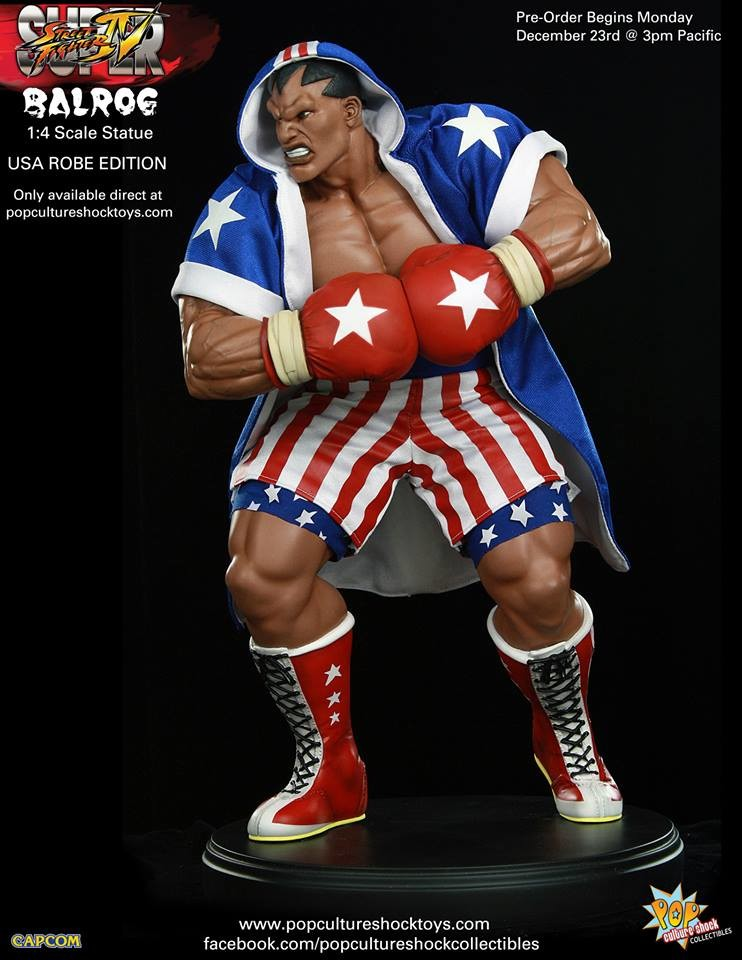 Alejandro pereira street fighter balrog usa robe exclusive 4