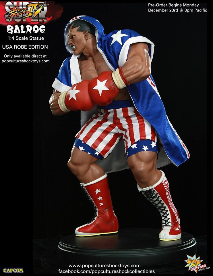 Alejandro pereira street fighter balrog usa robe exclusive 6