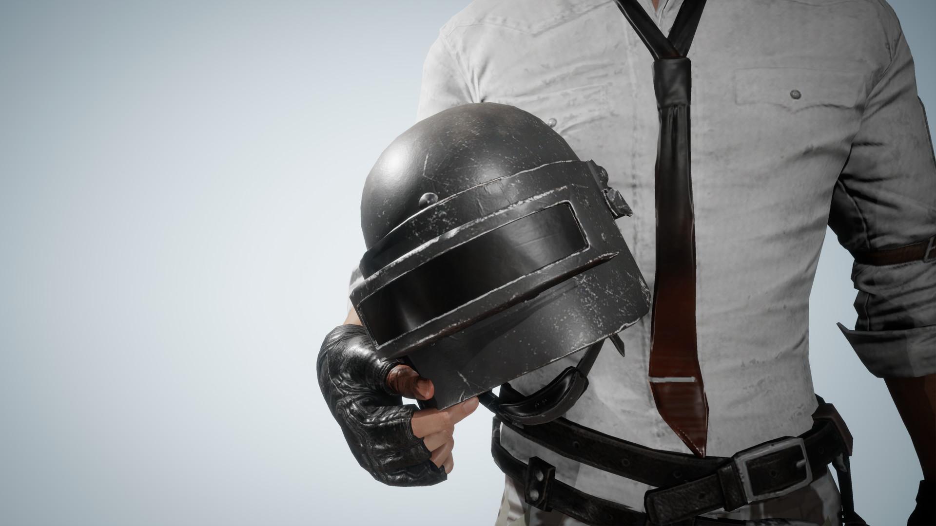 Pubg Helmet Man With Pan 4k Hd Games 4k Wallpapers: Wallpaper Pubg Equipman