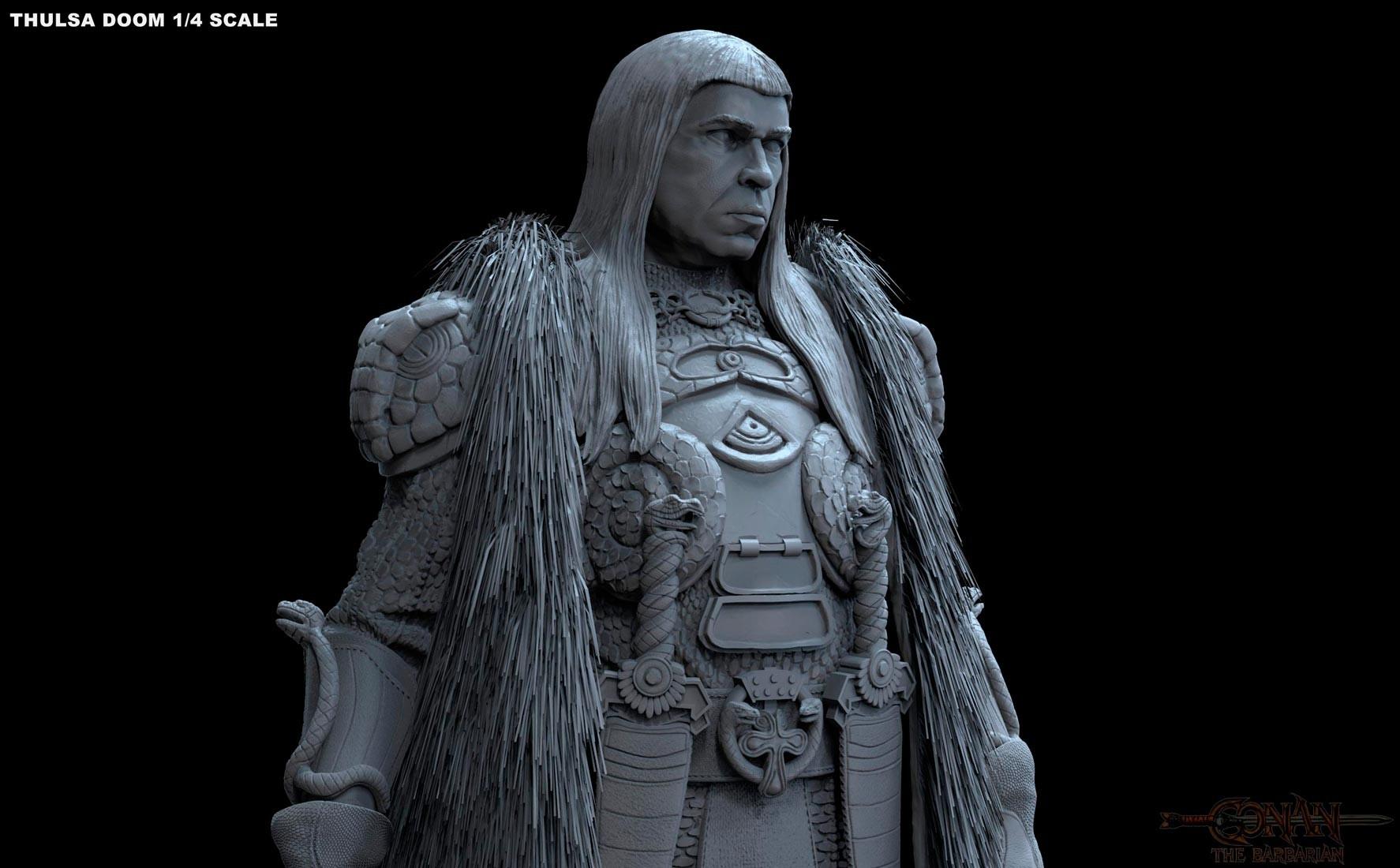 Alejandro pereira thulsa statue 06m