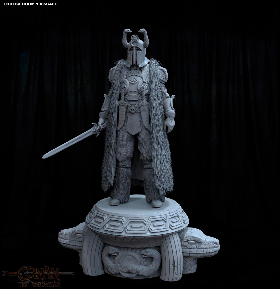 Alejandro pereira thulsa statue 01m