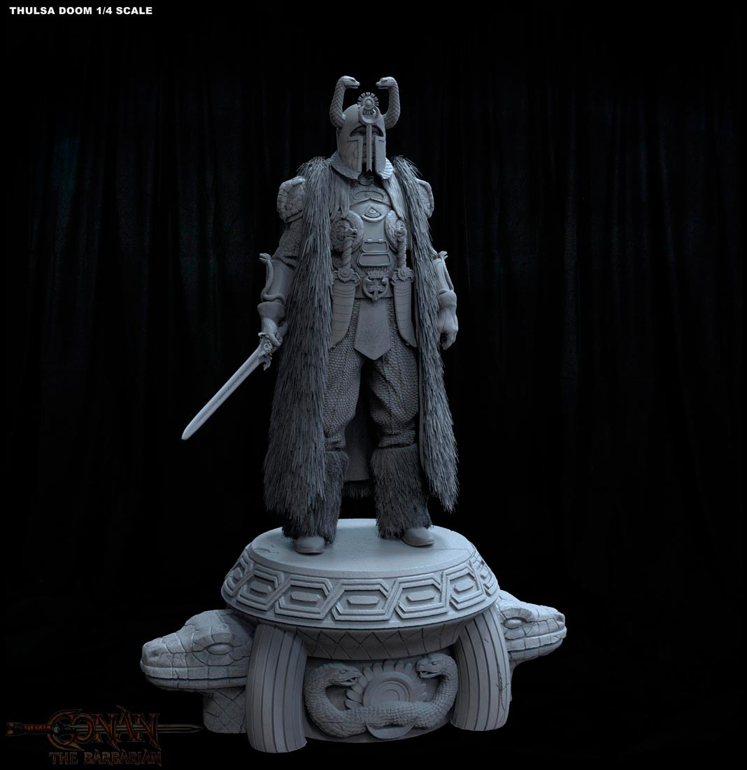 Alejandro pereira thulsa statue 02m
