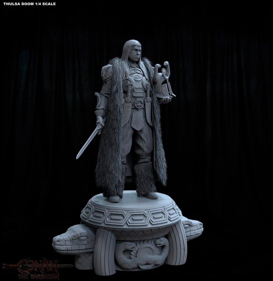 Alejandro pereira thulsa statue 03m