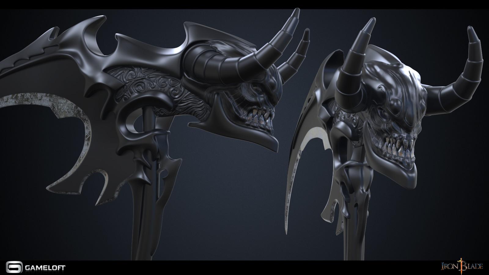 Iron Blade: Medieval Legends - Halloween Scythe