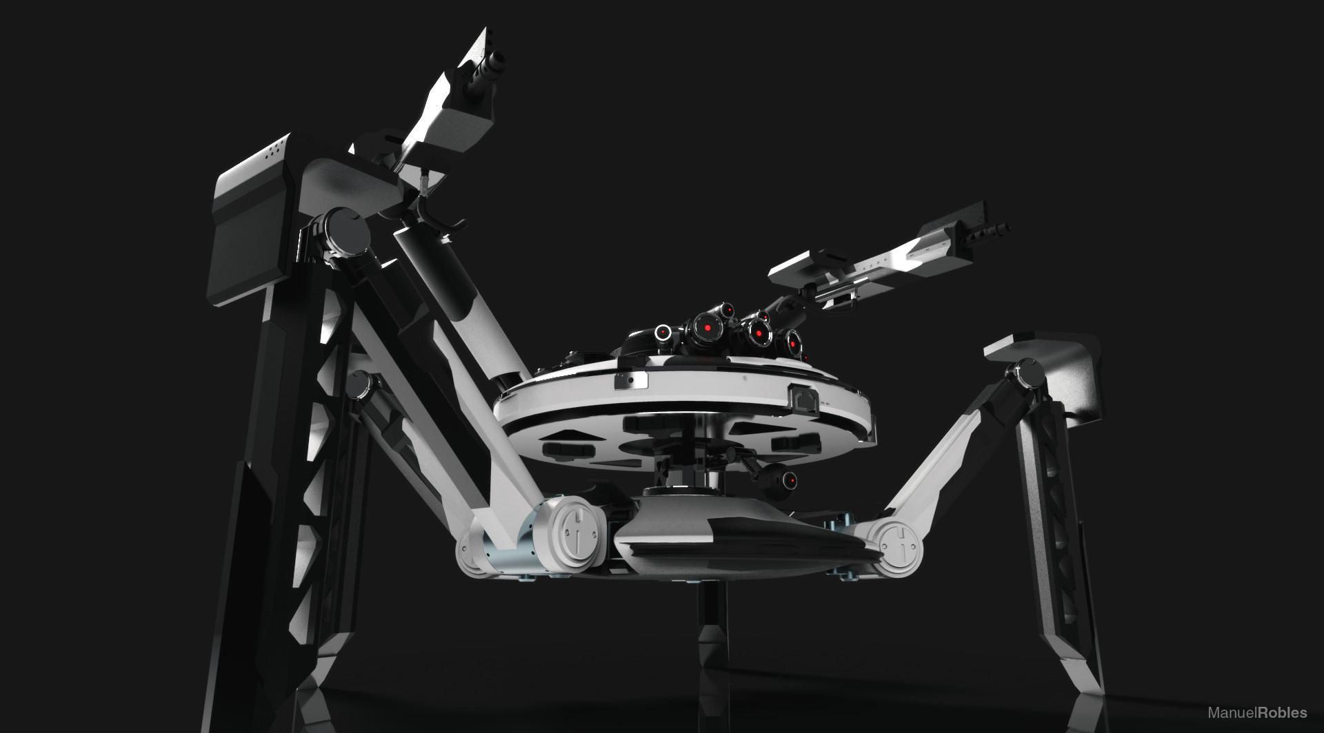 Manuel robles spider robotdron 02 viewset 32