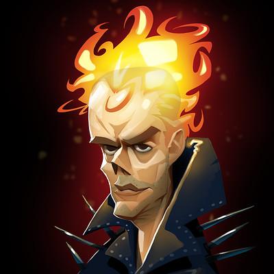 Ivan nikulin stuart helloween avatar ghost rider