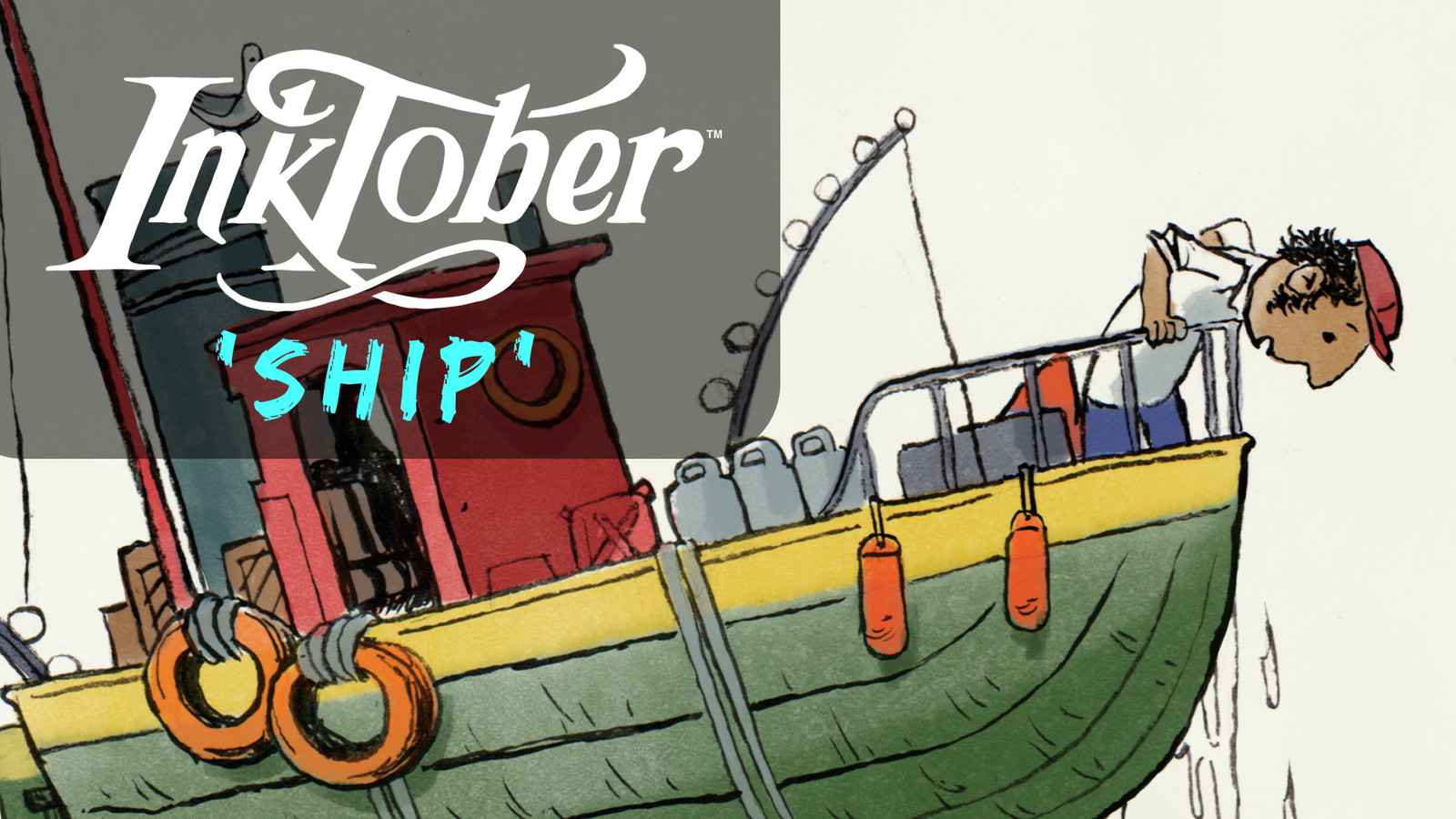 Inktober 2017 #25 Ship