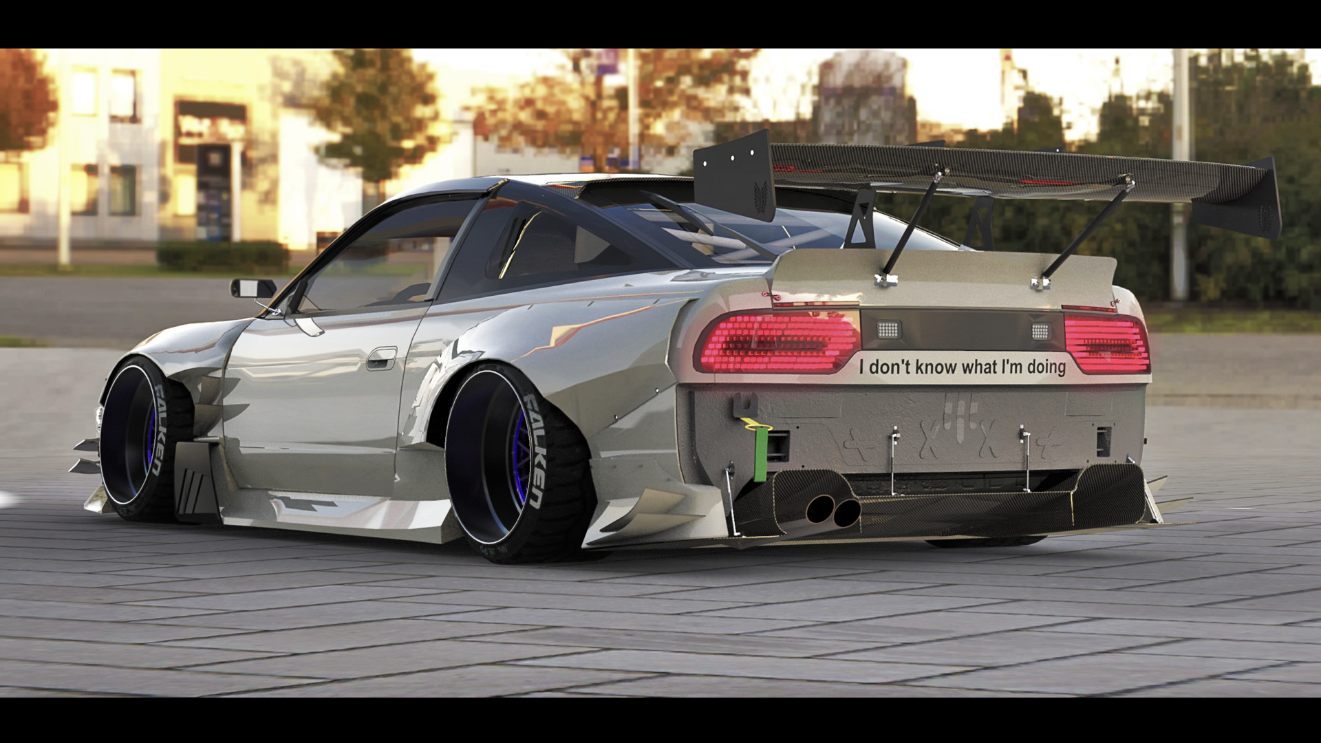 nissan 180sx wallpaper gadget and pc wallpaper