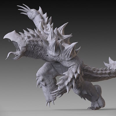 Jia hao 2017 kaiju snapslash digitalsculpting 01