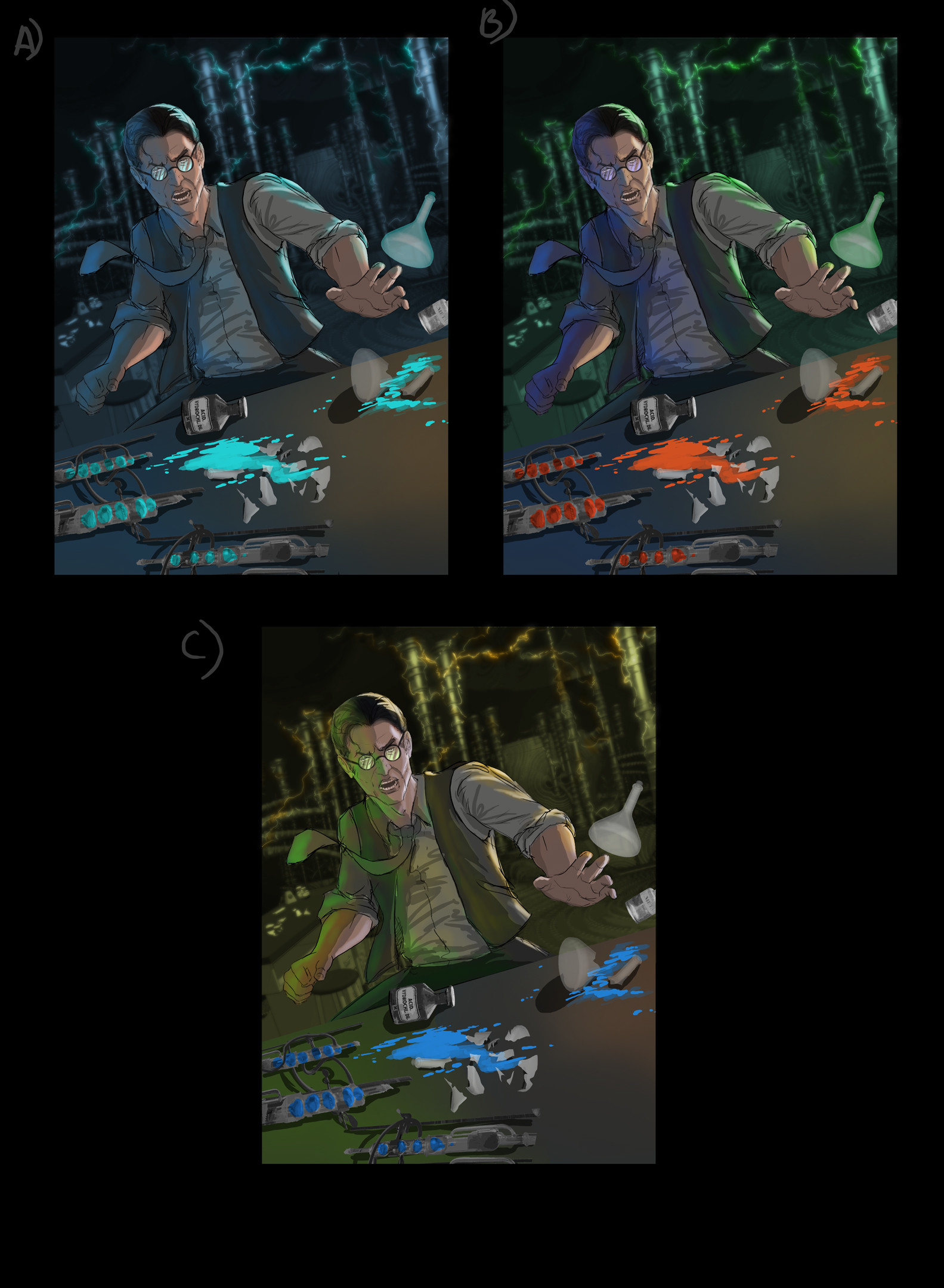 Danny kundzinsh henry beast mccoy color comps