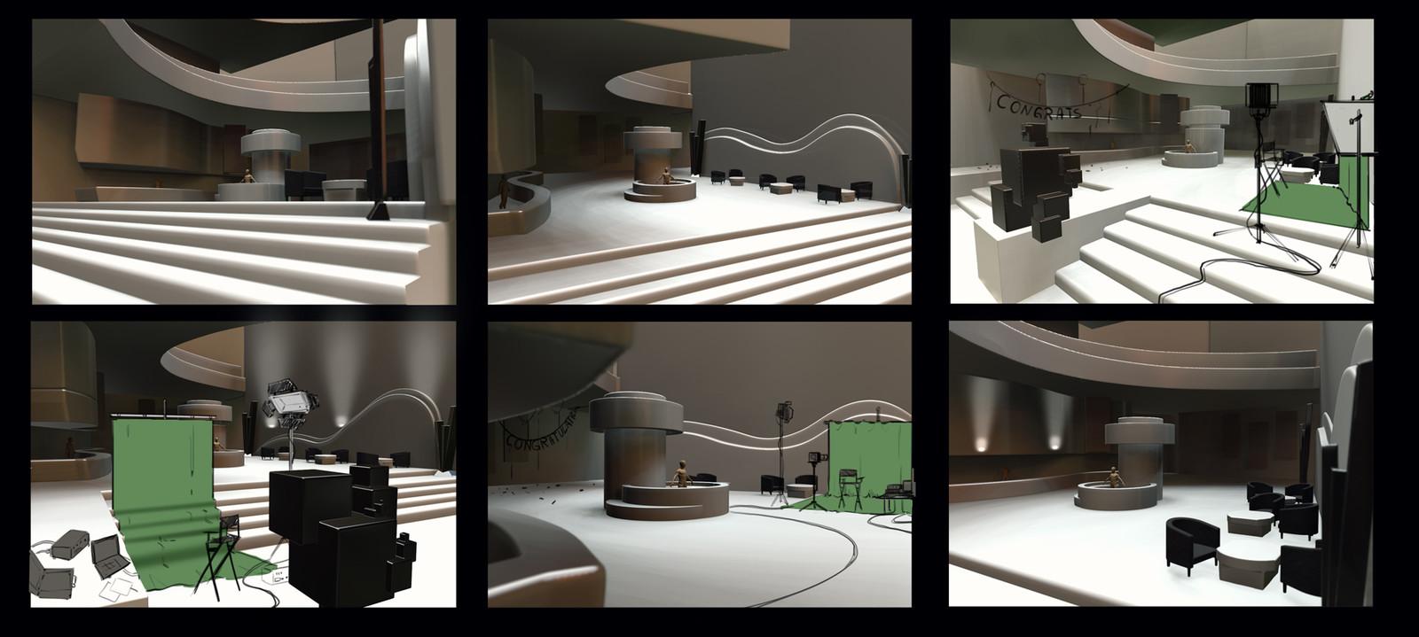 3D Concept / Camera angle test