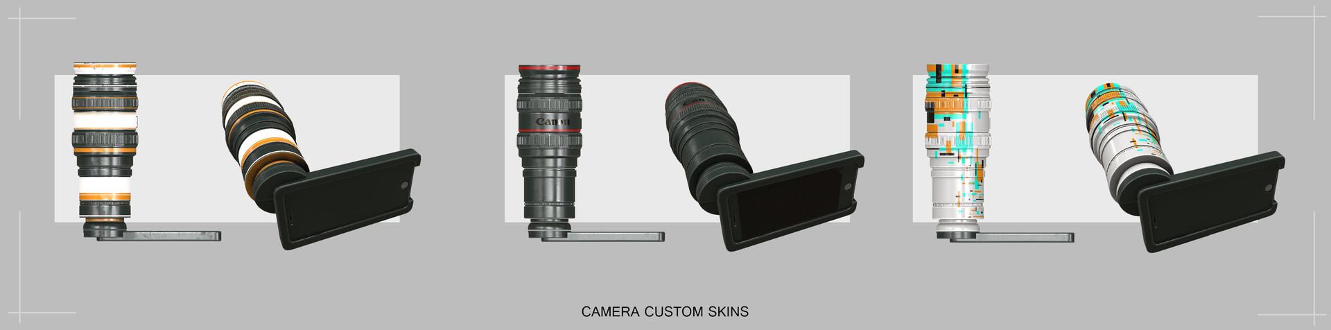 Camera lense for mobile phone