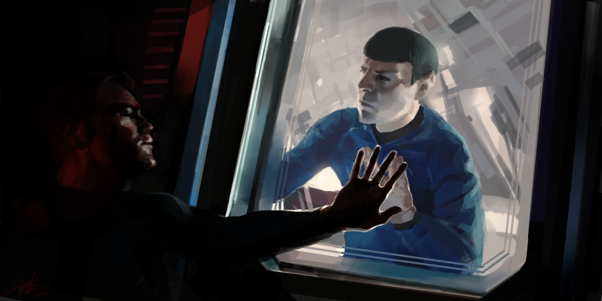 Star Trek Into Darkness (2013) this one's actually composed by piecing different shots together.