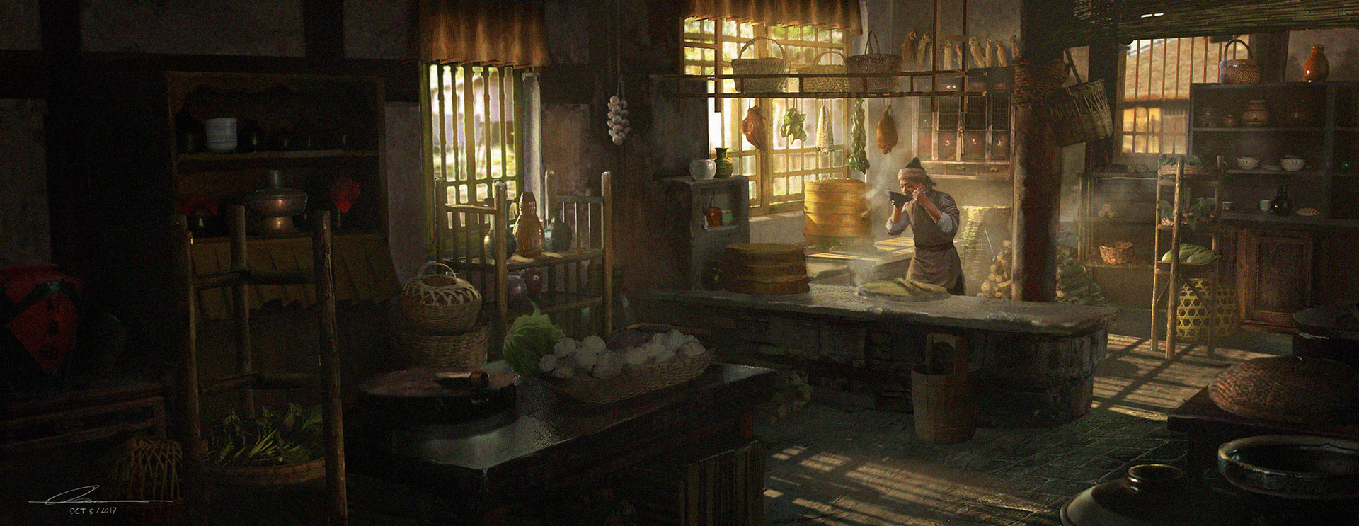 A Chefu0027s Day In An Ancient Chinese Kitchen