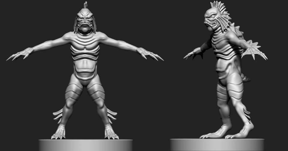 Full Figure Statue WIP