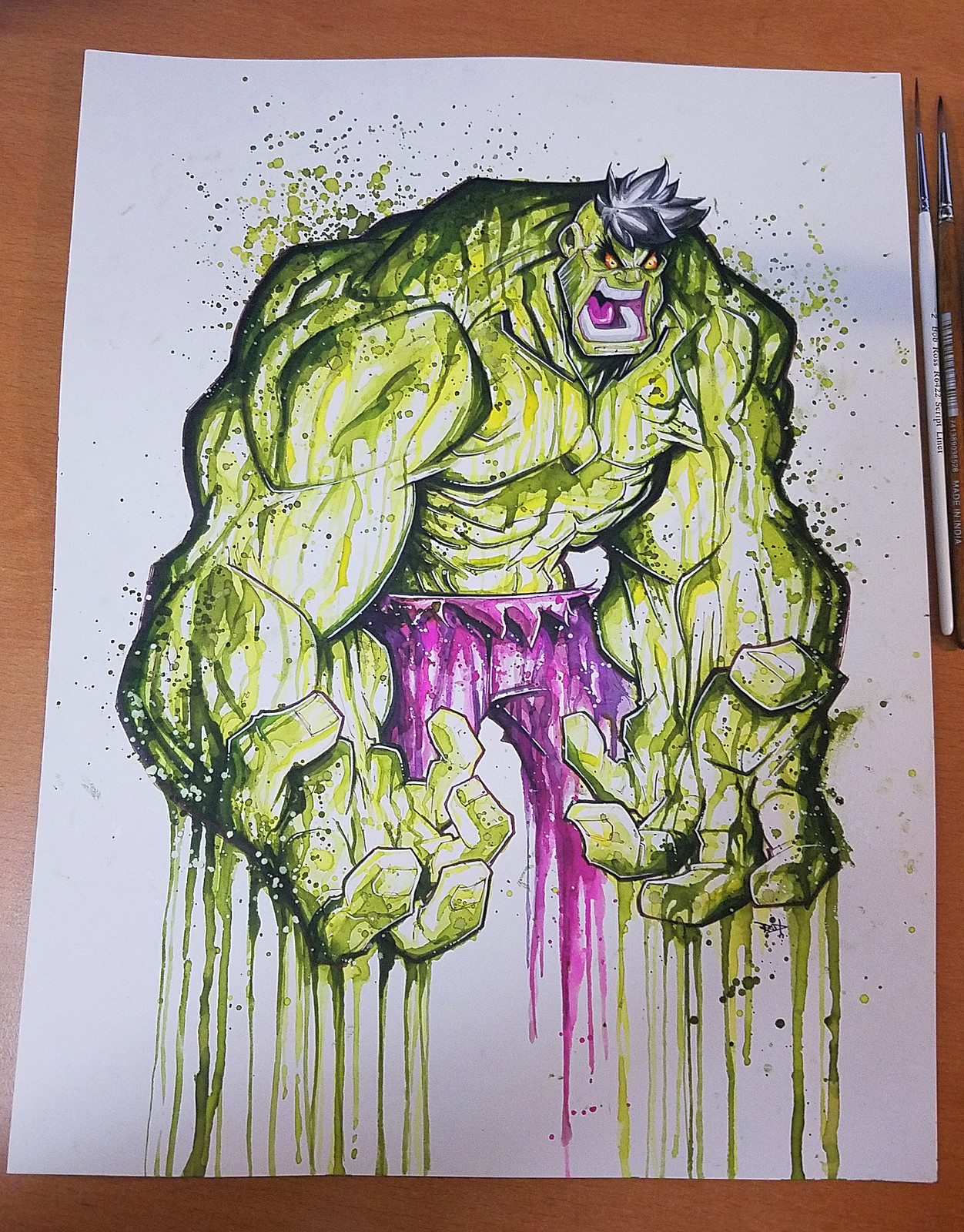Hulk Saucy Commish