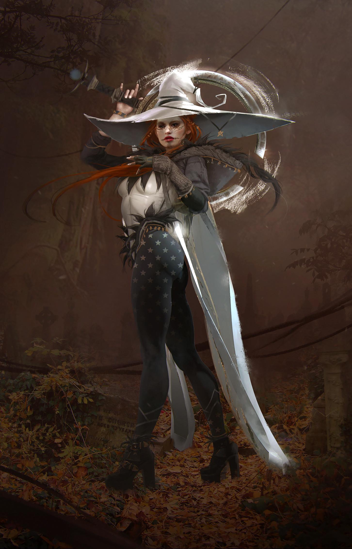 Magdalena radziej witch3