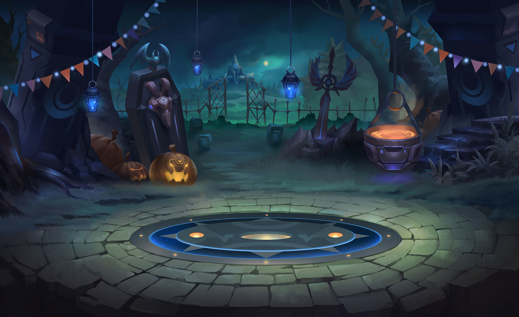 Trung nguyen bg halloween scale3