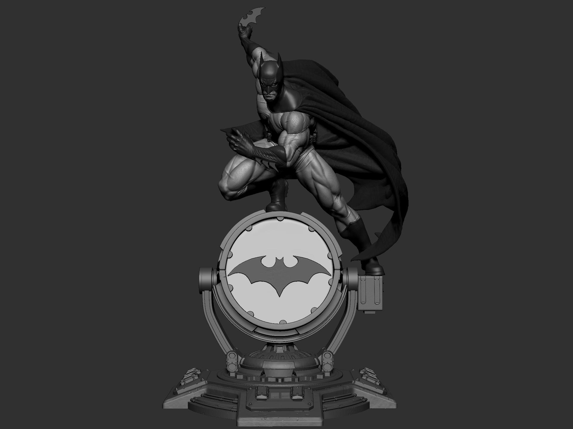 ArtStation - BATMAN 3d print, Kaushik Manna