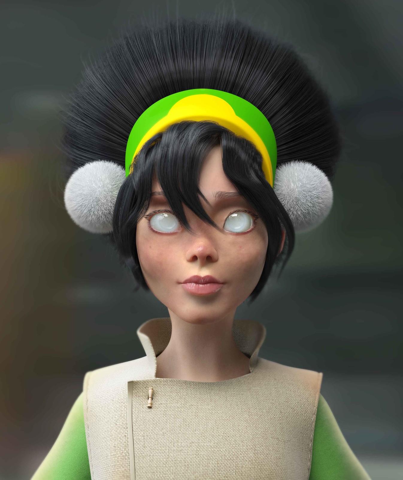 Portrait Toph Beifong - Avatar