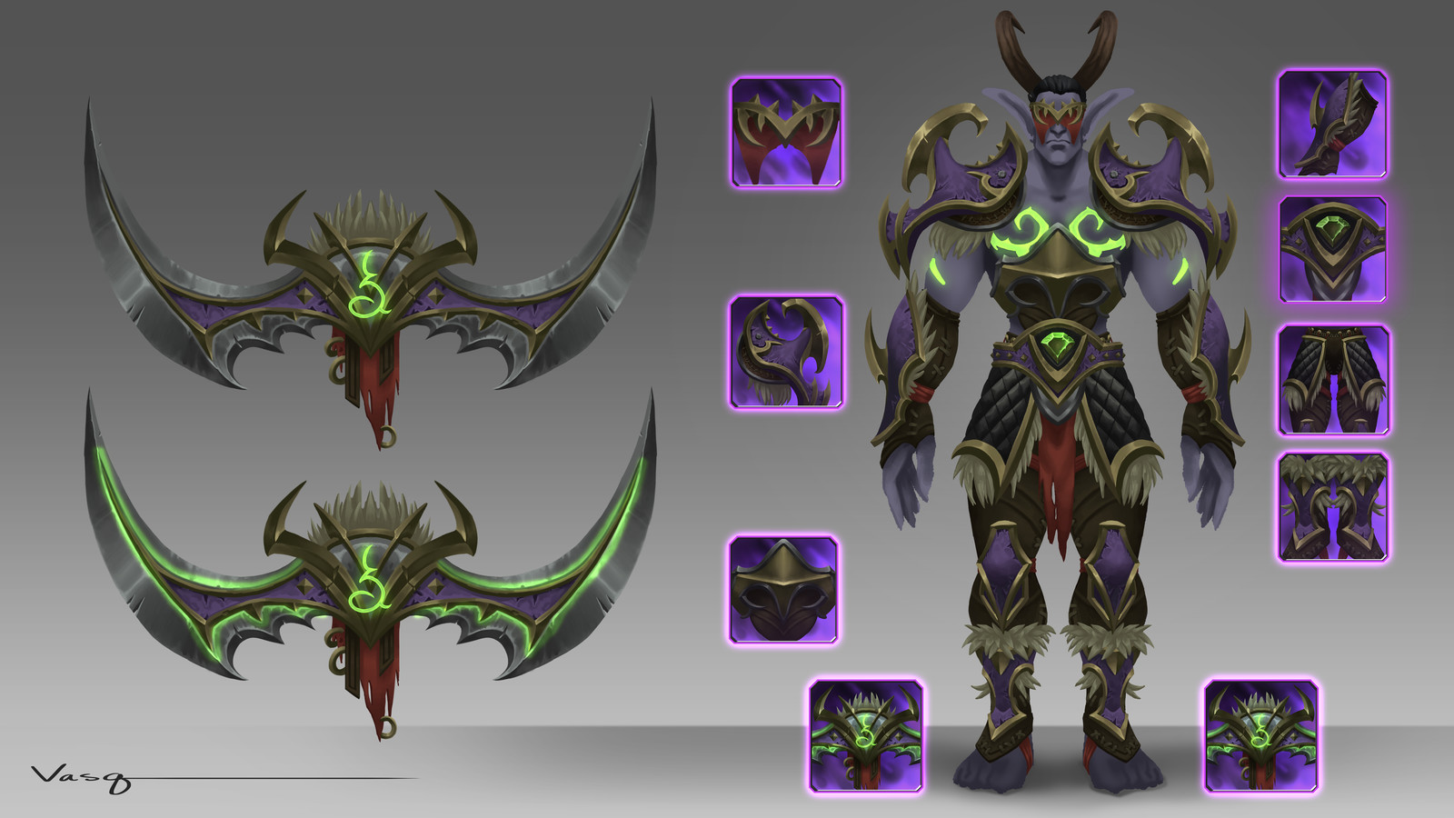 Demon Hunter Concept