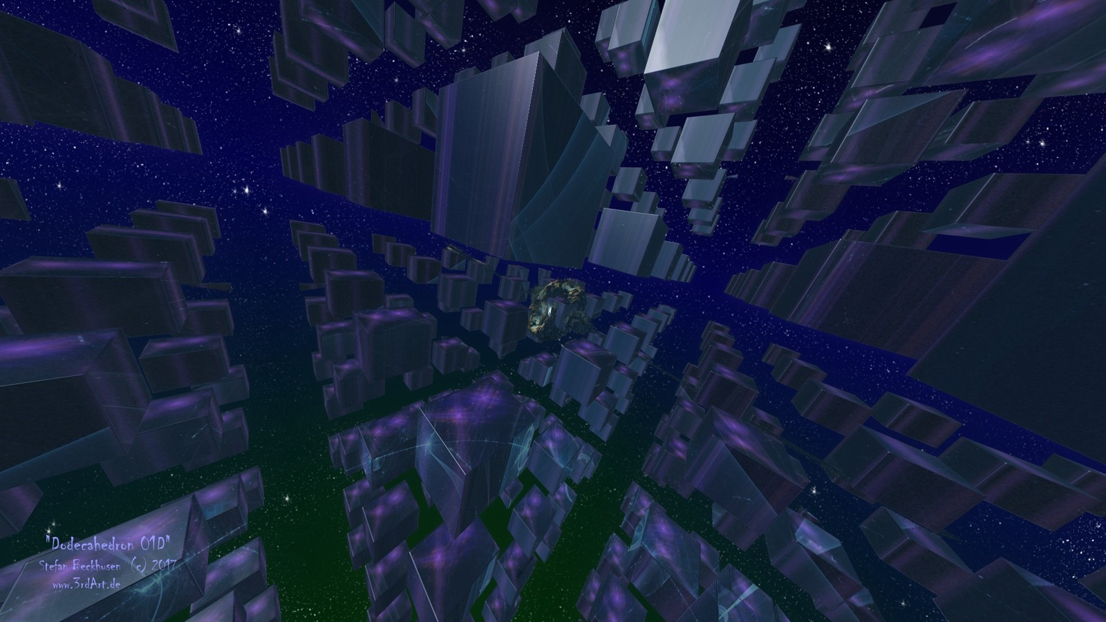 ArtStation - DODECAHEDRON 01D, the mystery planet and the