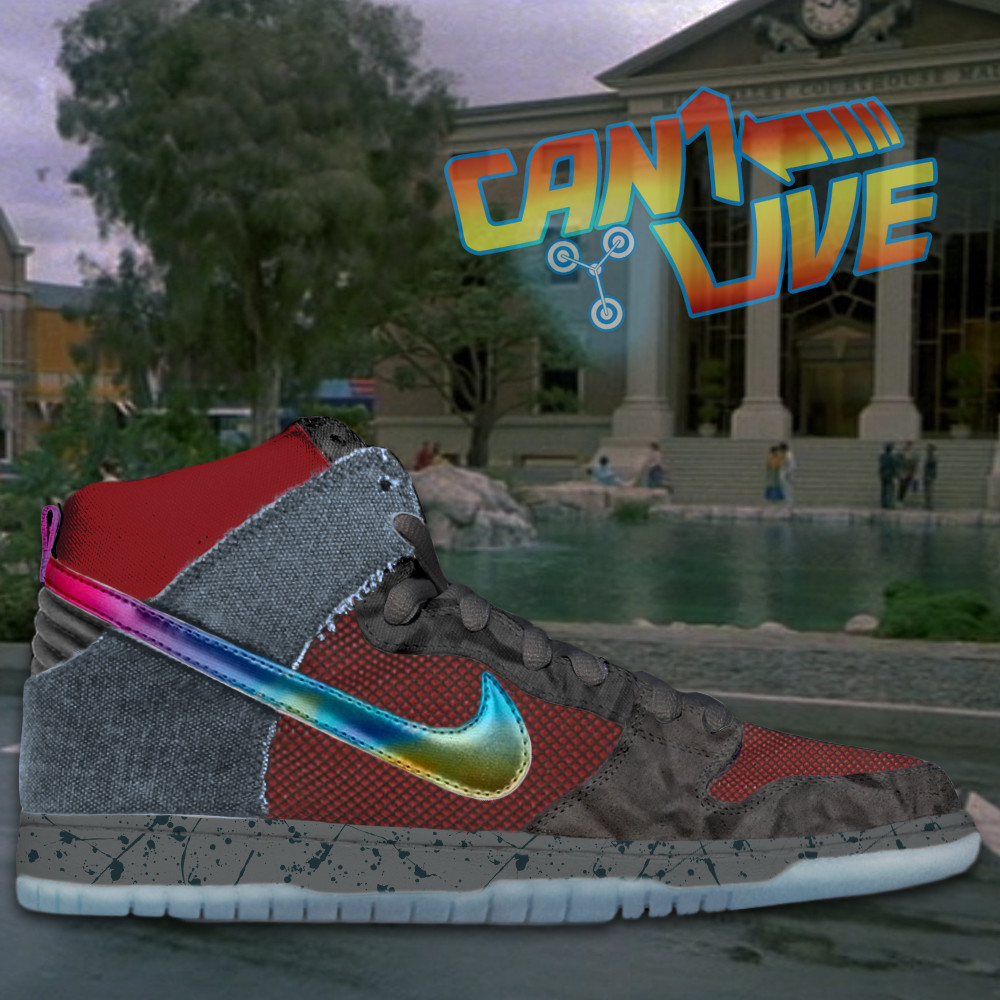 Hunter george marty mcfly dunk high final