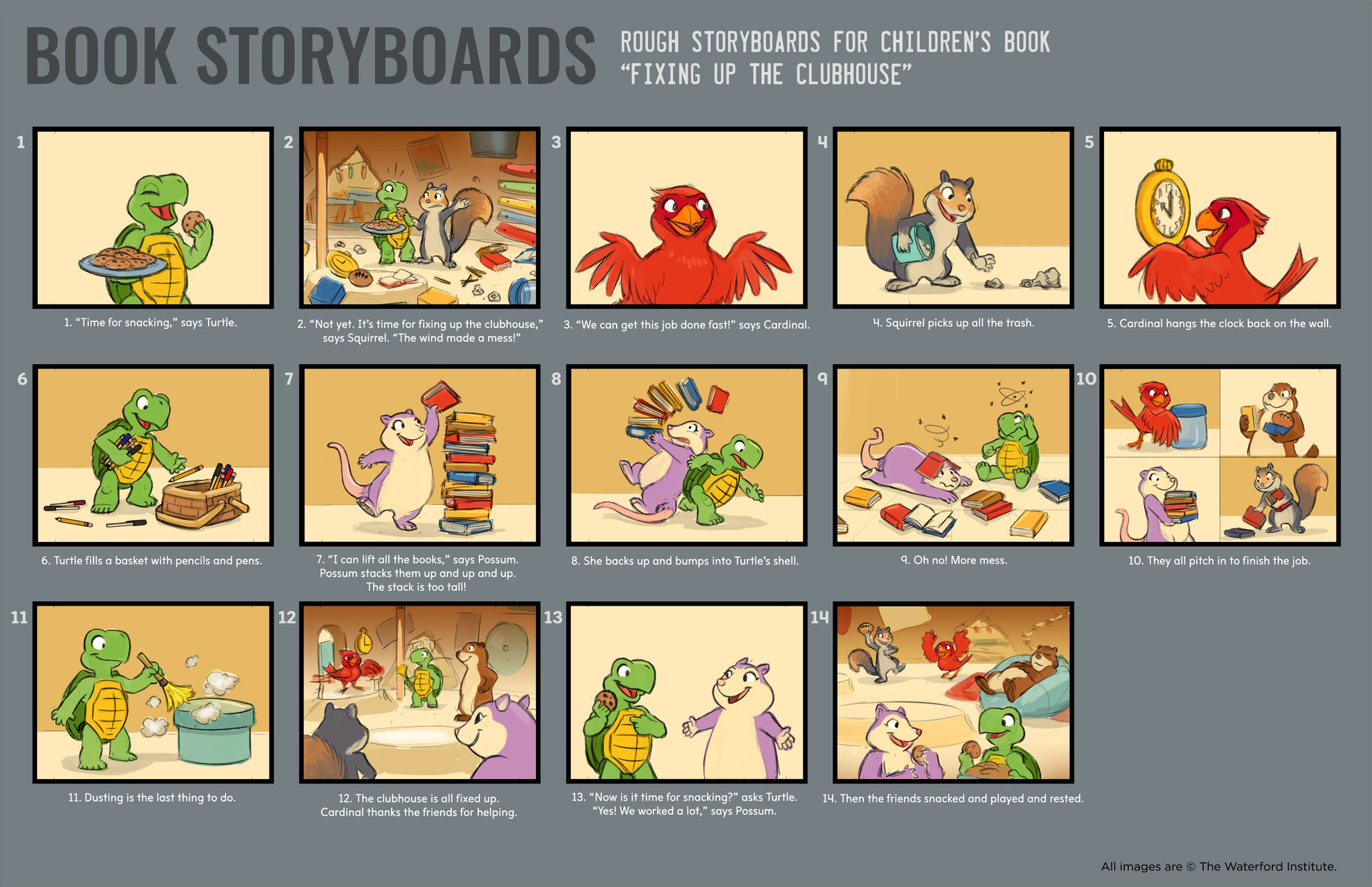 ArtStation - Children\'s Book Storyboards - The Waterford Institute ...