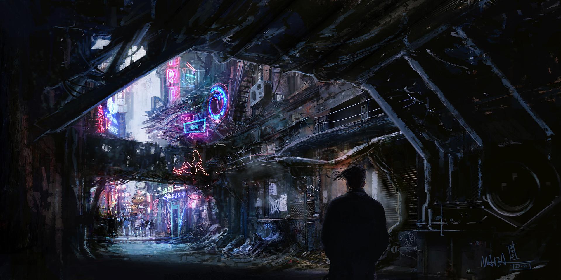 Ghost in the Machine (IC) Dario-marzadori-cyber-alley-hd