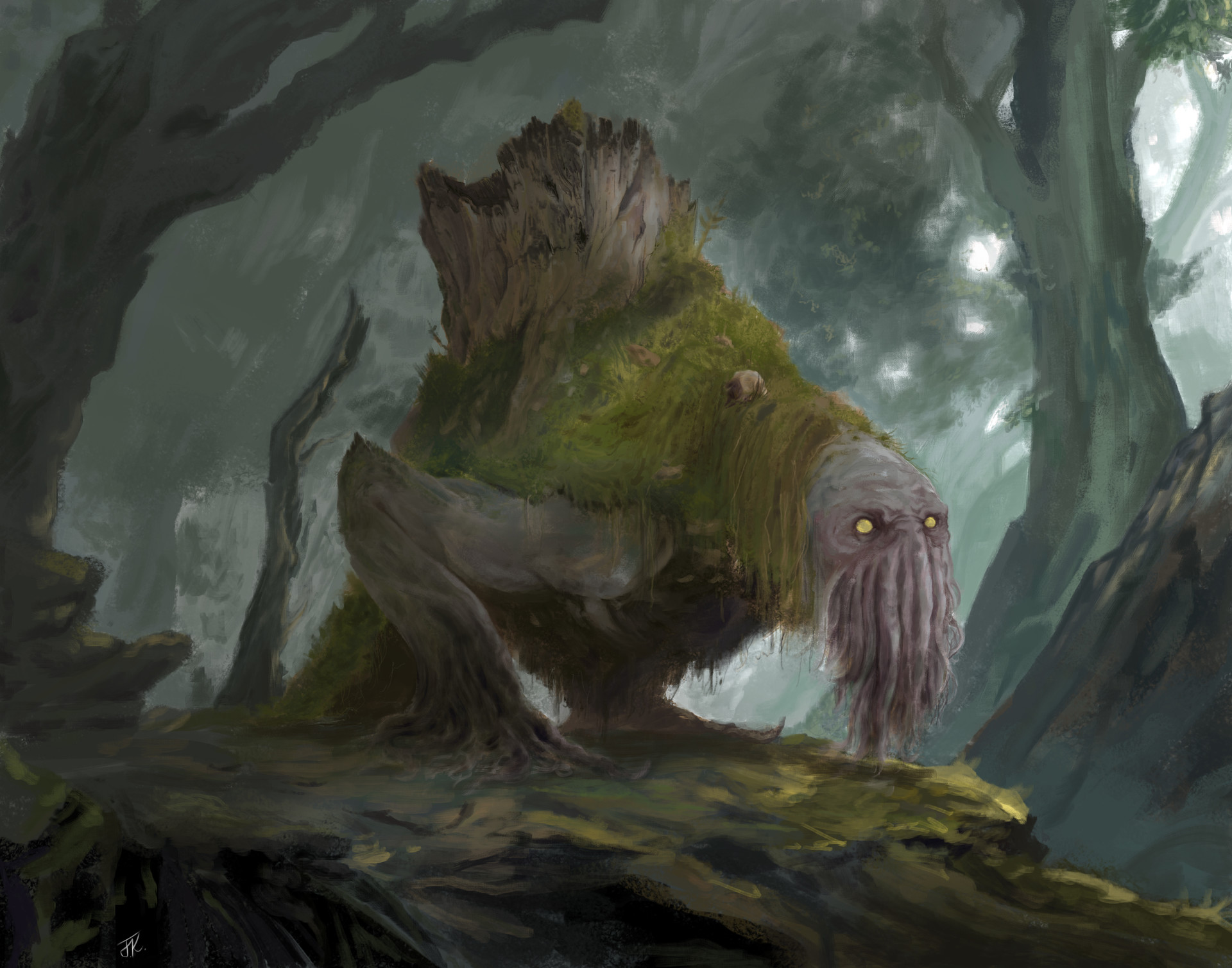 The Swamps of Prayvania Josh-ketchen-tree-beast-full-size