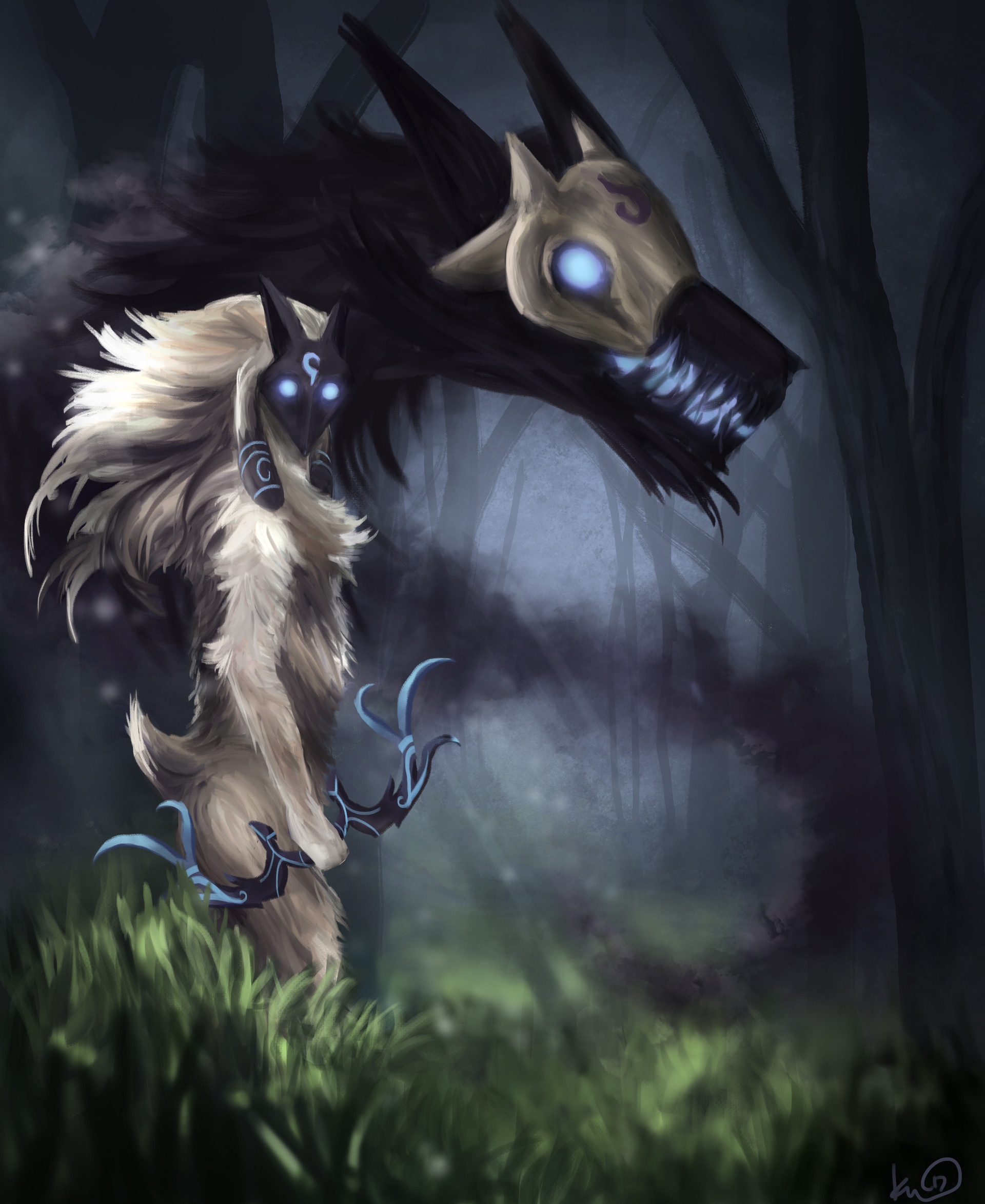 Lamb and Wolf