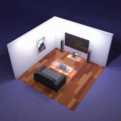 Taha yeasin iso living room render
