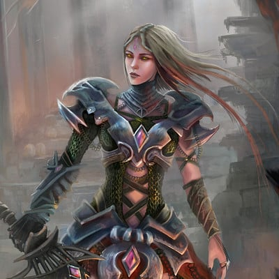 Lorenn tyr guerrera dragonfin3