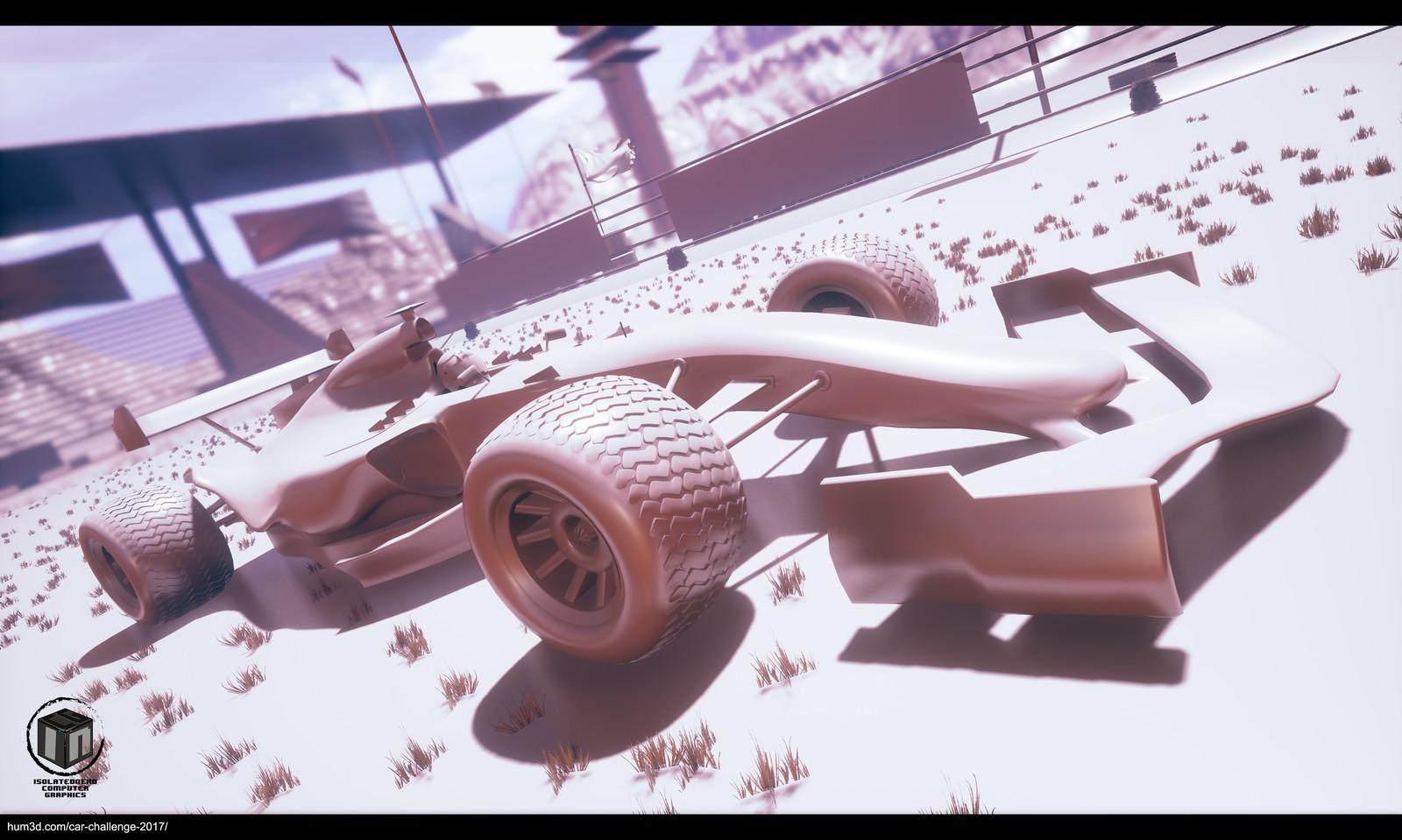 Formula 1 Dirt Car Challenge