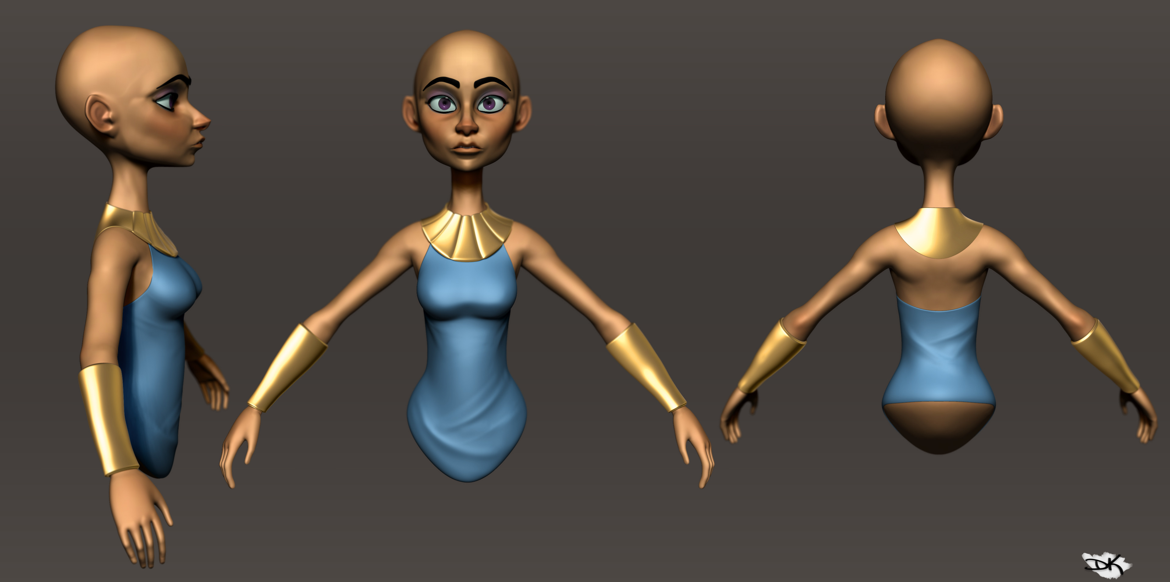 Zbrush BPR, nothing fancy here