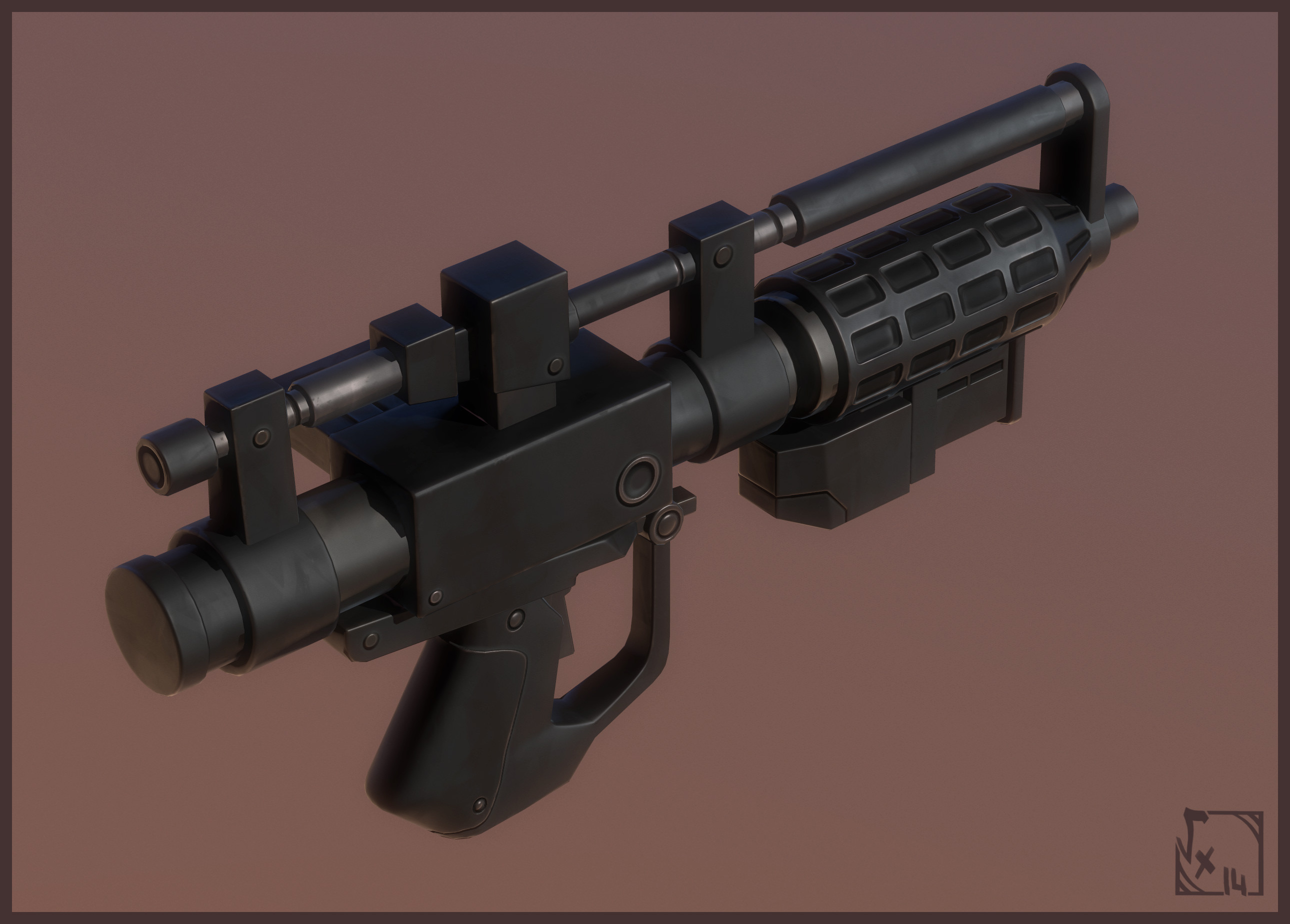 BlasterRifle E-5, stylised of course ;)