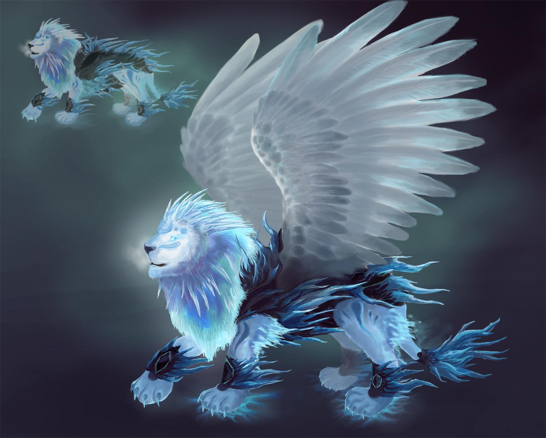 artstation ice lion orm irian